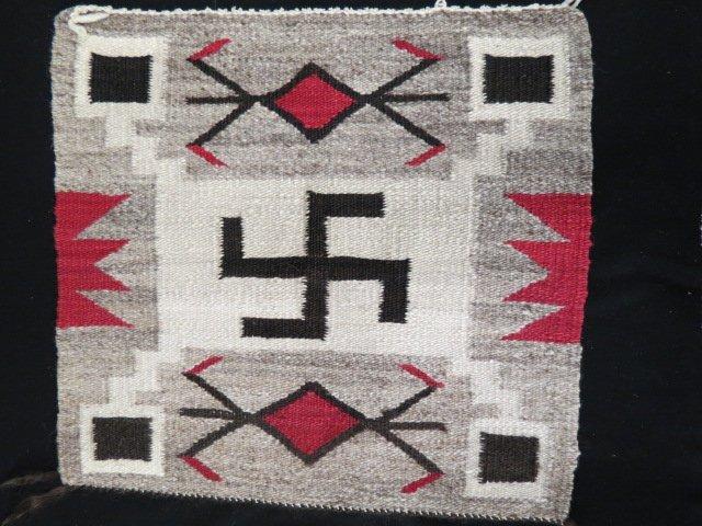 Native American Indian Saddle Blanket,