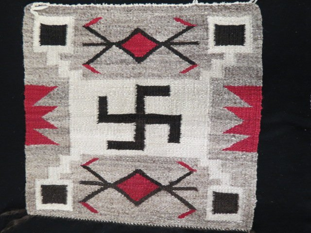 Native American Indian Saddle Blanket,