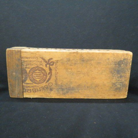 Antique Wooden Cigar Mold,
