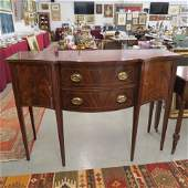 Fine Inlaid Mahogany Sideboard by Hickory Chair