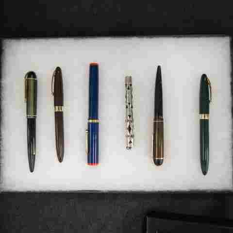 6 Vintage Fountain Pens,