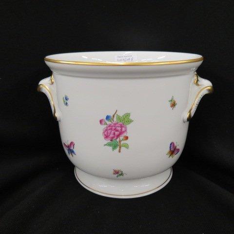 "Herend Porcelain ""Queen Victoria"" Cashe Pot or Planter"
