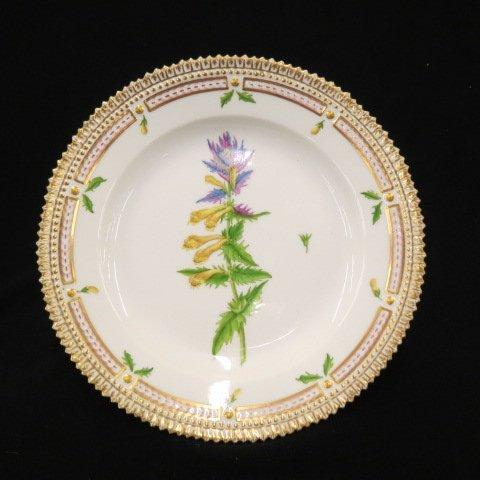 "Royal Copenhagen ""Flora Danica"" Porcelain Plate,"