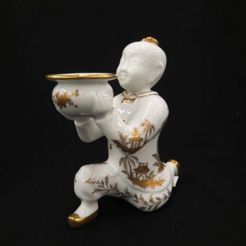 Sevres Tiffany Porcelain Figural Candleholder