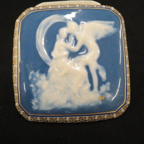 Limoges Pate-Sur-Pate Porcelain Box,