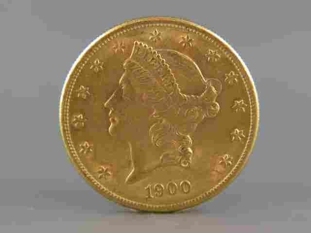 1900-S U.S. $20.00 Liberty Head Gold Coin,