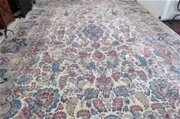 Sarouk Persian Palace Size Handmade Rug,