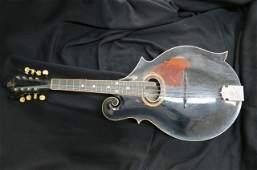 Early Gibson Mandolin Guitar, serial #7418,