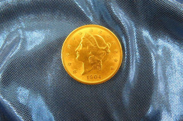 1904 U.S. $20.00 Liberty Head Gold Coin,
