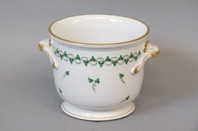 Herend Porcelain Planter Or Cache Pot,