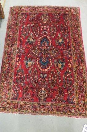 Sarouk Persian Handmade Rug,