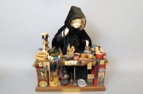 Norma De Camp Diorama Of A Merchant,