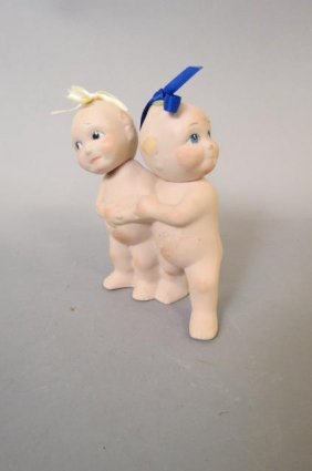 Kewpie Doll Porcelain Figurine,