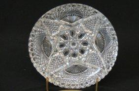 J. Hoare Cut Glass Dish,