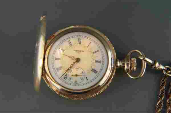 Elgin Ladies Pendant Watch and Chain,