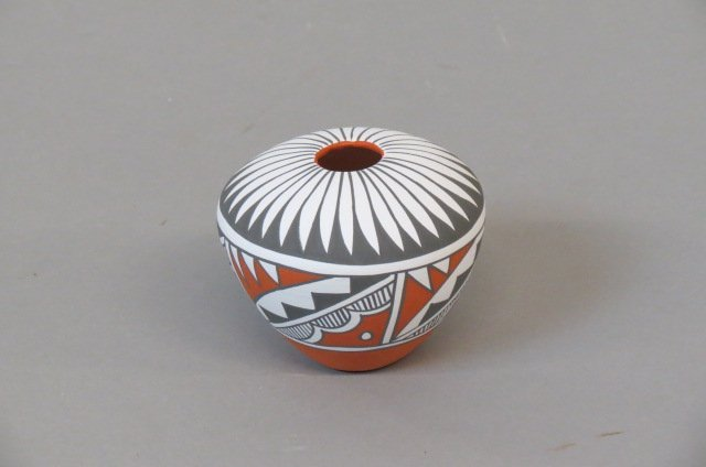 Indian Pottery Vase by Mary Small,