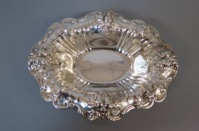 Reed & Barton Francis I Sterling Oval Bowl,