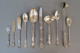 10 Pcs. Sterling Silver Flatware,