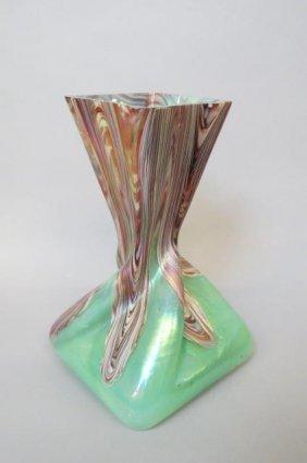 Rindskoff Art Glass Vase,