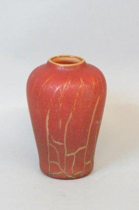 Richard Moiel And Kathy Poeppel Art Glass Vase,