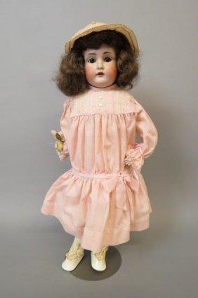 Kestner German Bisque Head Doll,