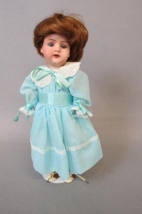 Victorian Bisque Head Doll,