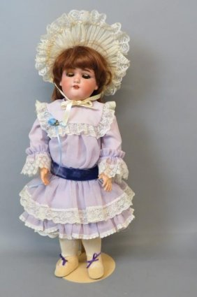 "Simon And Halbig Bisque Head Doll ""julia"" #1349,"