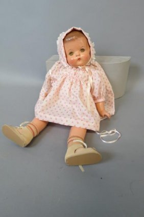 "Effanbee ""patsy Ann"" Compostition Doll,"