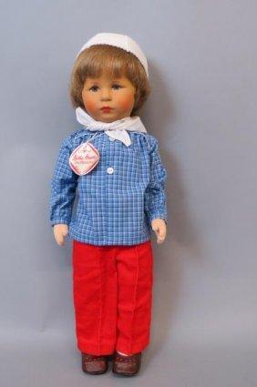 """Kathe Kruse """"auselum"""" Doll,"""