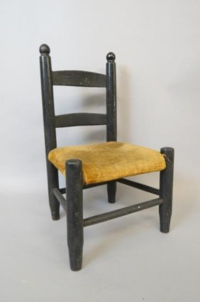 Victorian Child Or Doll Chair,