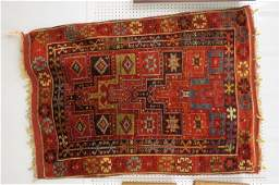 Caucasian Handmade Rug, Told a Central Anatolia Turkish