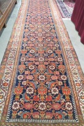 Mahal Type Persian Handmade Runner,
