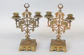 Pair Of 19th Century Candelabra,