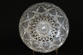 Cut Glass Bowl,