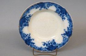 "Grindley Flow Blue Ironstone ""marguerite"" Bowl,"