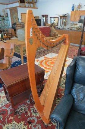 """the Troubadour Harp"" By Lyon & Healy, Inc."