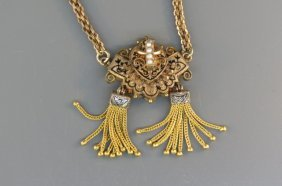 Victorian Gold-filled Necklace,