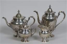 4 pc Gorham Sterling Silver Tea  Coffee Service