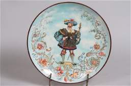 German Pottery Charger
