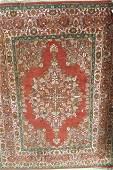 Oushak Style Persian Handmade Rug,