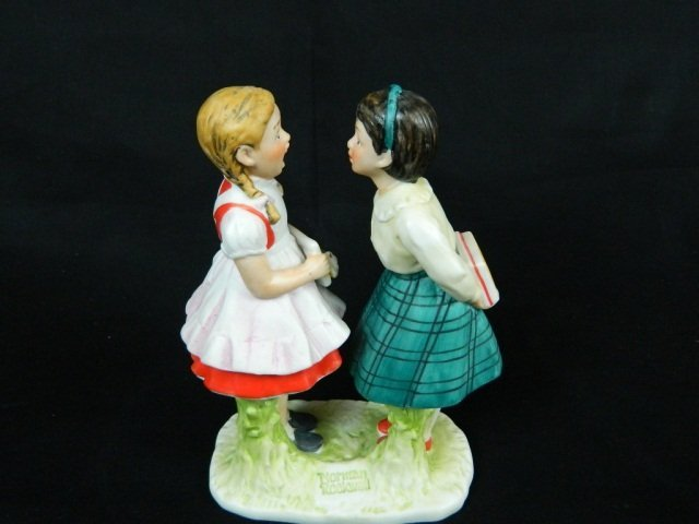 """18: Gorham Norman Rockwell Missing Tooth 6"""" Porcelain"""