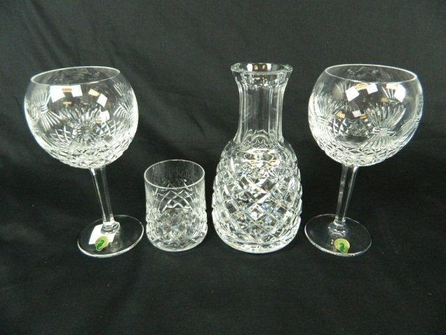 24: Millenium Collection Toasting Goblets w/ Pitcher