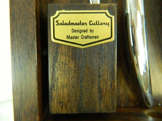 56: Salad Master Cutlery Wall Mount Knife Set - 2