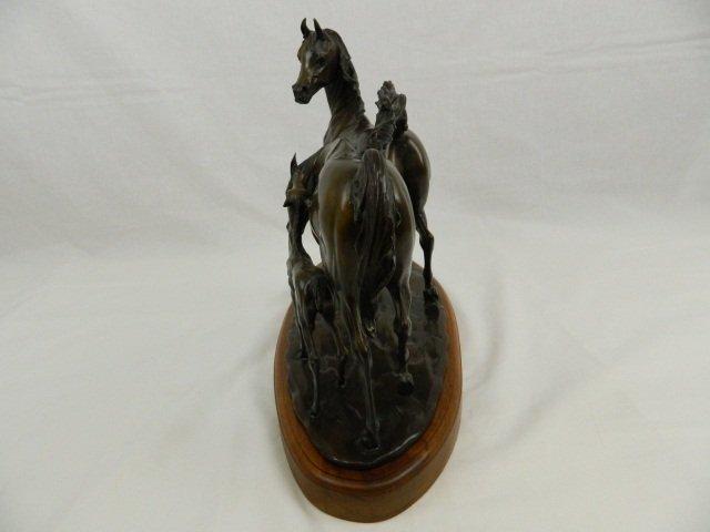 """60: Bronze Sculpture by Robert Larum, """"Easy Does It"""" - 3"""