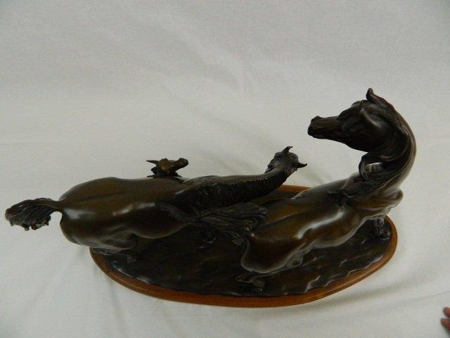 """60: Bronze Sculpture by Robert Larum, """"Easy Does It"""" - 5"""