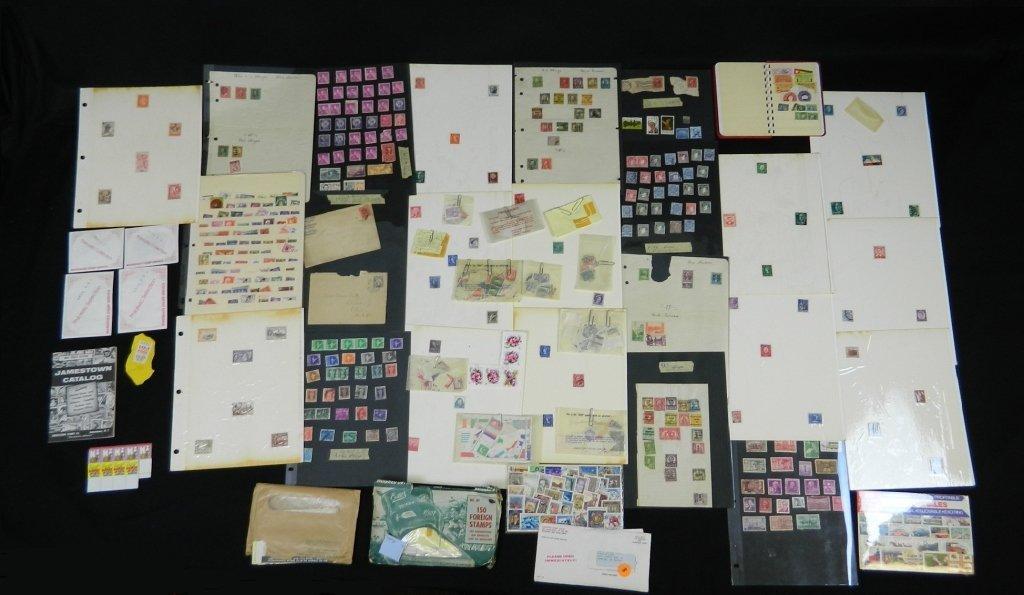Postage Stamp Lot Treasure Hunt
