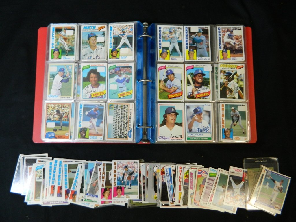 Pre 80's Topps Baseball Card Lot