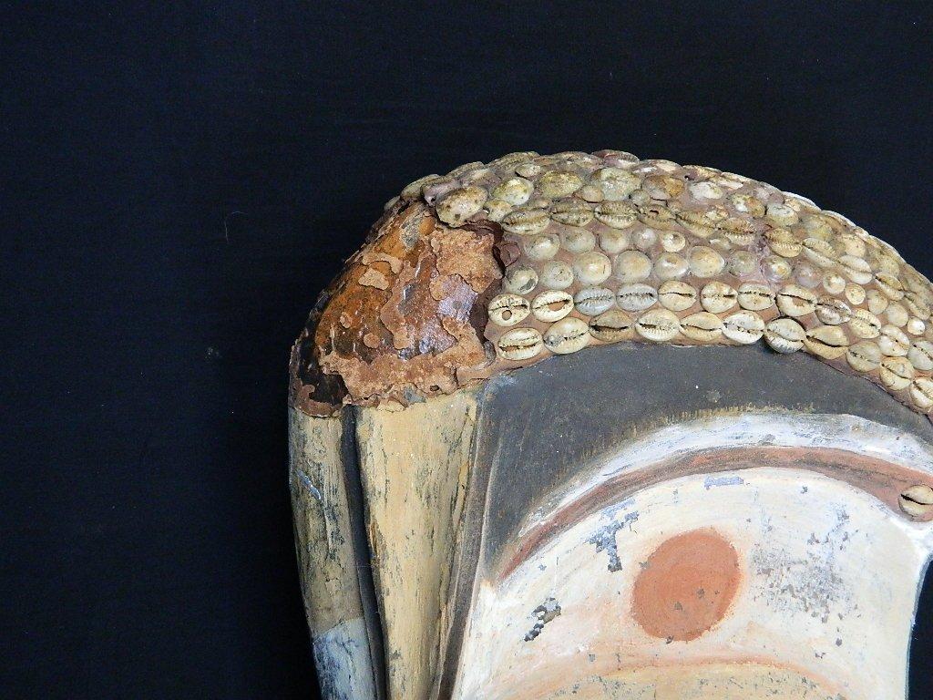 Papua New Guinea Wood Bird Figure Carving - 4