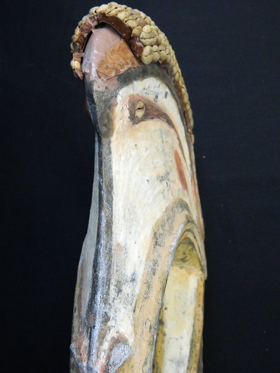 Papua New Guinea Wood Bird Figure Carving - 5