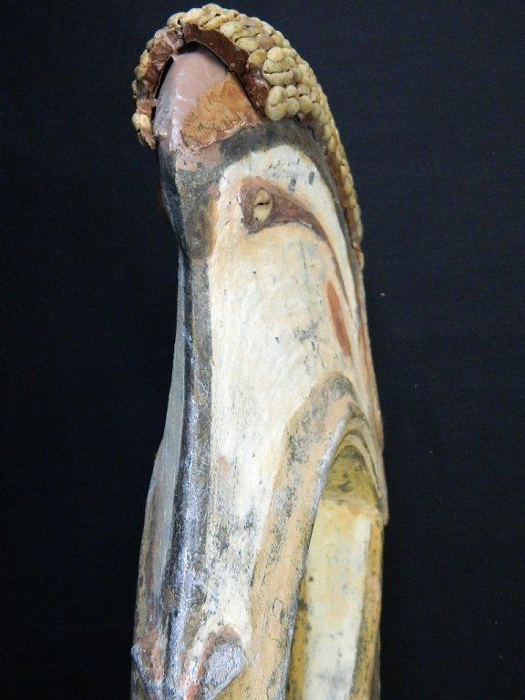 Papua New Guinea Wood Bird Figure Carving - 5